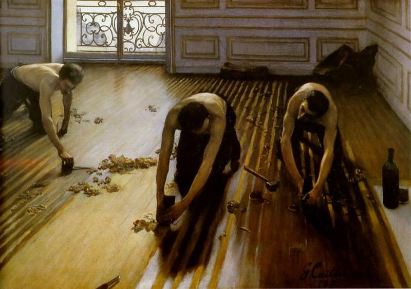 The Floor Secrapers, Gustave Caillebotte, 1875