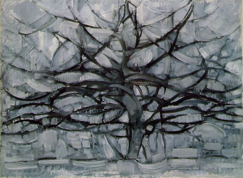 Gray Tree, Piet Mondrian, 1911