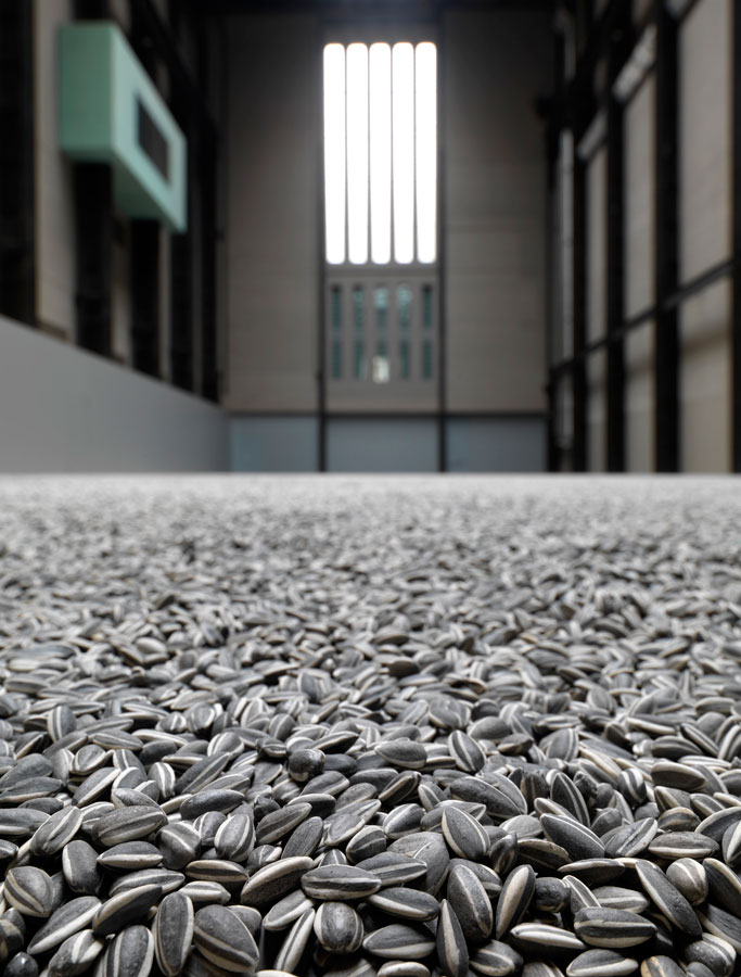 Ai Weiwei Sunflower Seeds 2010, Photocredit: Tate Photography